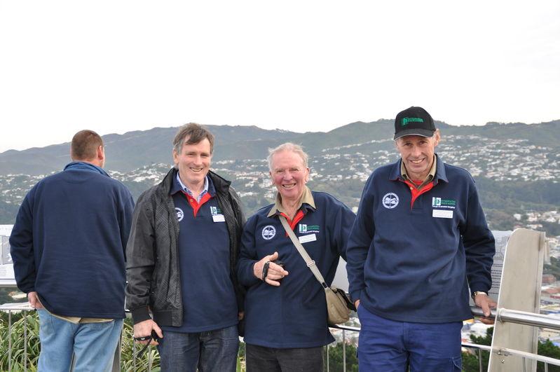 Dunedin sightseeing, Justin Richards, John Anker, John Haydon, Stephen Quast