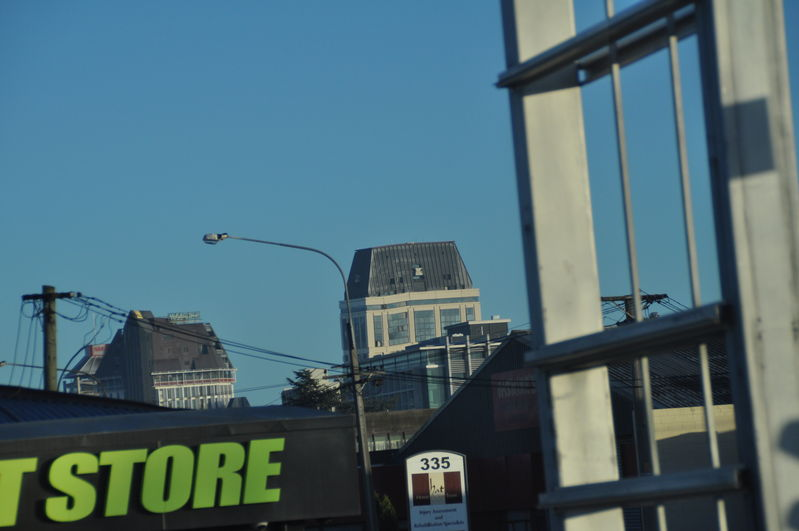 The hotel we should have stayed in before the Christchurch earthquake. Check the lean