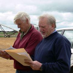 Members from Western Victoria first WEEDSTOP class Robert Molesworth, Len Smyth