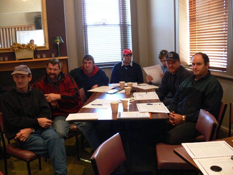 Members from Western Victoria first WEEDSTOP class